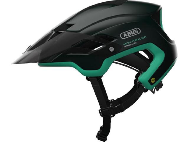 ABUS Montrailer MIPS Fietshelm groen/petrol